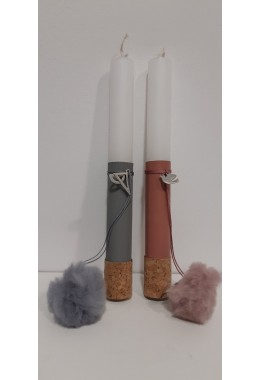 Easter Candle White (EC0015)