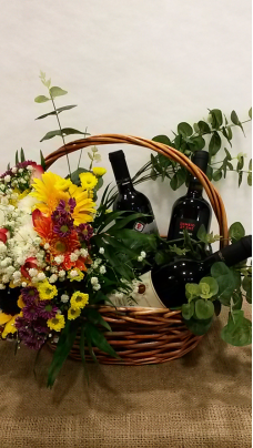 Composition With Flowers And  Wines (LLSP0001)