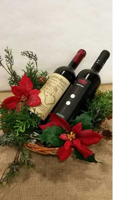 Christmas Composition With Wines (LLSP0004)