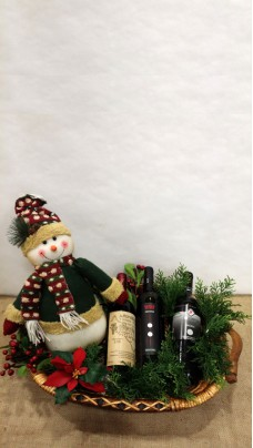 Christmas Composition With Wines (LLSP0005)